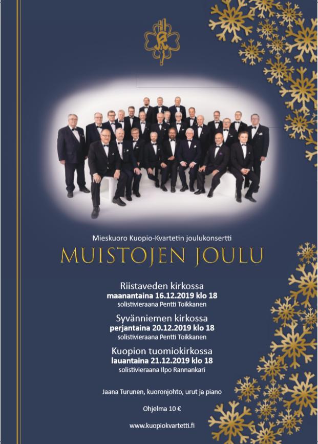 MKK joulukonserttijuliste 2019